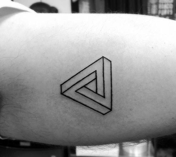 70 kleine einfache Tattoos für Männer - männliche Ideen und Inspiration