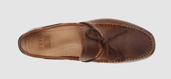 Frye Lewis Tie Antiker Loafer