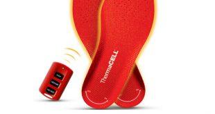 ThermaCell Heizsohlen halten Ihre Füße kabellos warm