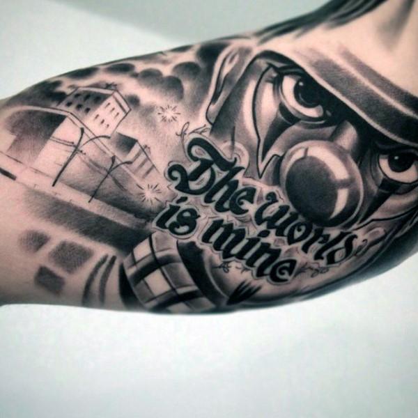 90 Chicano Tattoos für Männer - Cultural Ink Design-Ideen