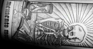60 Memento Mori Tattoo Designs für Männer - Manly Ink Ideen