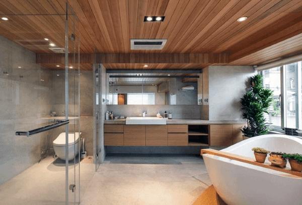 Top 50 besten Badezimmer Decken Ideen - Finishing Designs - Mann ...