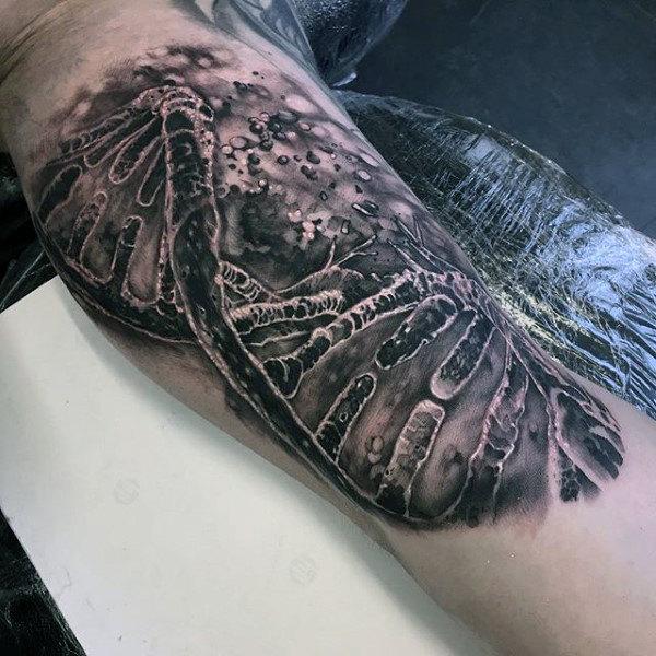 50 Leben Tod Tattoo Designs Für Männer Masculine Ink Ideen Mann
