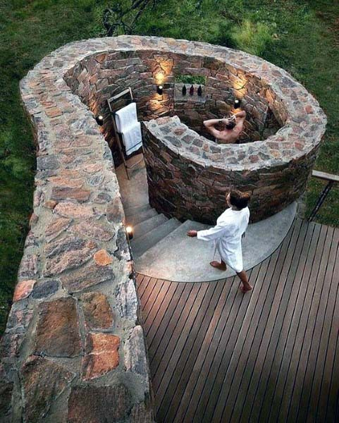 Top 60 Beste Outdoor Dusche Ideen Gehause Designs Mann