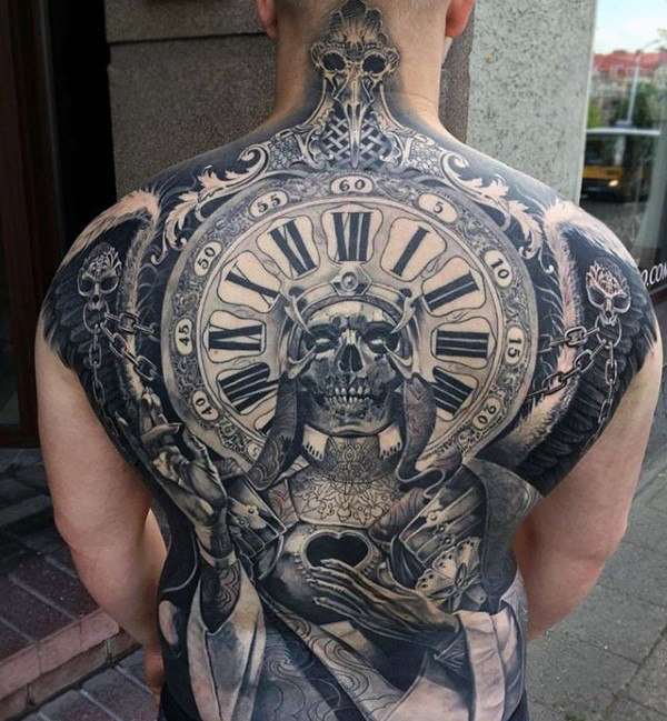 75 Crazy Tattoos für Männer - Fett Design-Ideen
