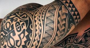 75 Half Sleeve Tribal Tattoos für Männer - Maskulin Design-Ideen