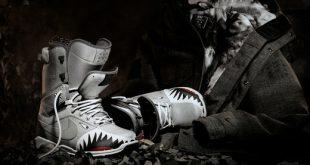 Nike Special Edition Zoom DK QS Shark Gesichts Snowboardstiefel