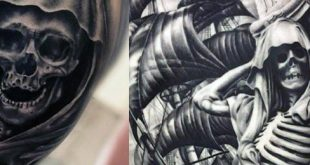 50 Skeleton Tattoos für Männer - Spine-Tingling After Life Designs