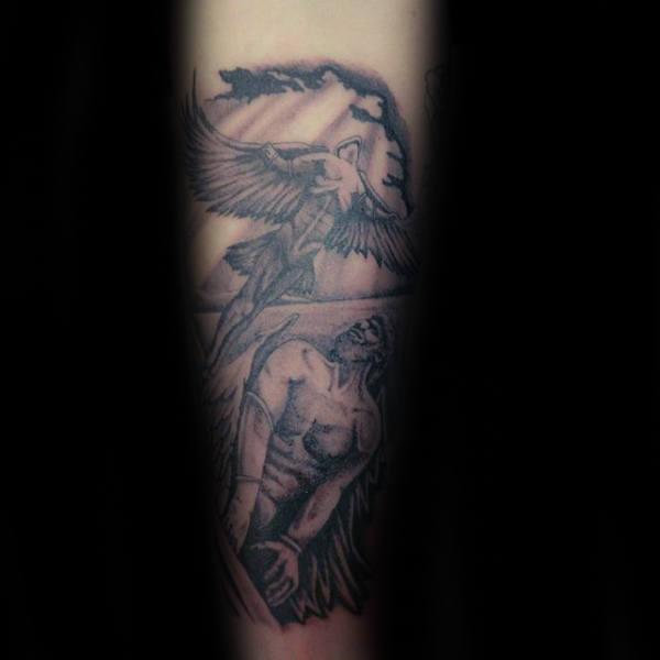 60 Icarus Tattoo Designs für Männer - Manly griechischen Mythologie Ideen