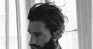 Flow Frisur für Männer - 40 männliche Hockey Haarschnitte