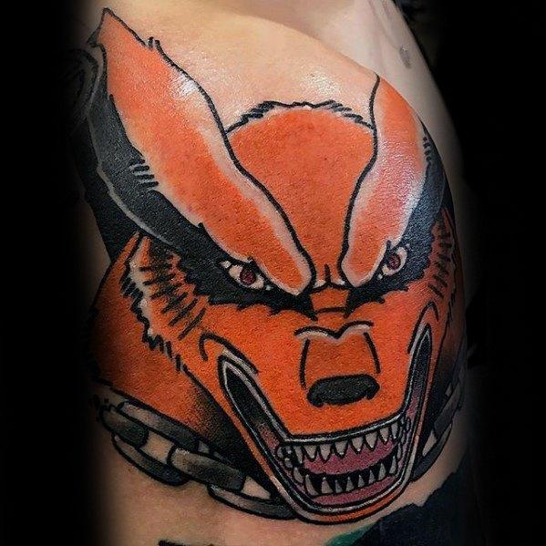 60 Naruto Tattoo Designs für Männer - Manga Ink Ideen