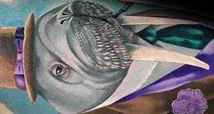 40 Walross Tattoo Designs für Männer - Marine Säugetier Tinte Ideen