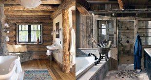 Top 70 besten rustikalen Badezimmer Ideen - Vintage Designs