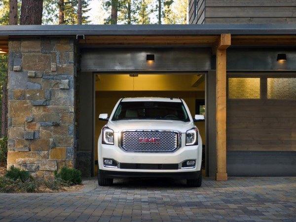 50 Outdoor Garage Lighting Ideas - Außenbeleuchtung Designs