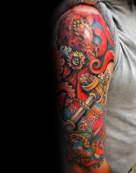 50 Tattoo Cover Up Sleeve Design-Ideen für Männer - Manly Ink