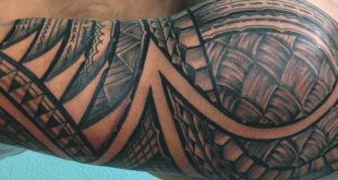 60 Hawaiian Tattoos für Männer - traditionelle Stammes-Tinten-Ideen
