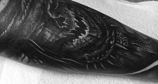 60 Vogelscheuche Tattoo Designs für Männer - Supervillain Ink Ideen