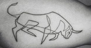 75 Linie Tattoos für Männer - Minimal Designs mit mutigen Aussagen