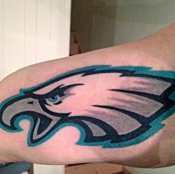 30 Philadelphia Eagles Tattoo Designs für Männer - NFL-Tinten-Ideen