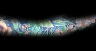 70 Orchidee Tattoos für Männer - zeitlose Blumen Design-Ideen