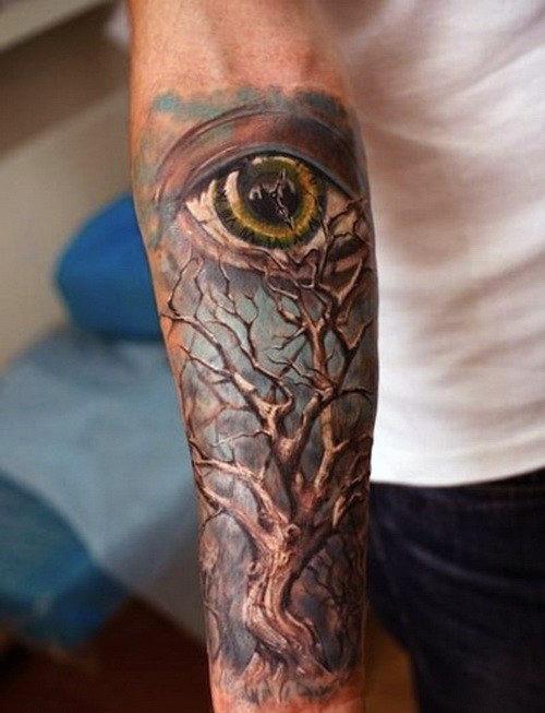 100 Unterarm Sleeve Tattoo Designs für Männer - Manly Ink Ideen