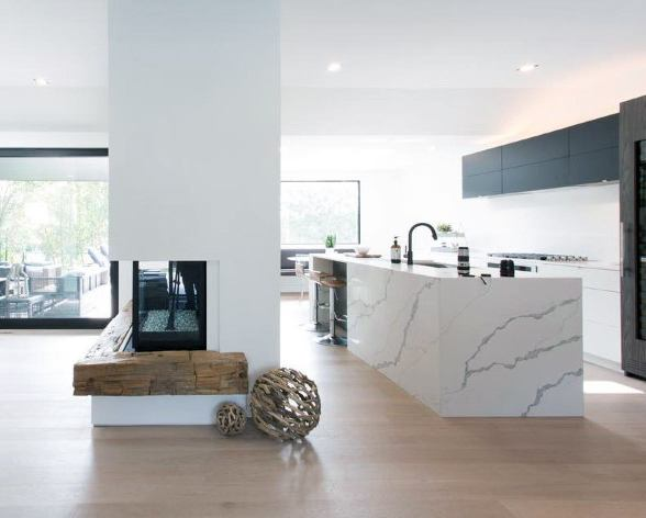 Top 70 besten Ecke Kamin Designs - abgewinkelte Interieur Ideen