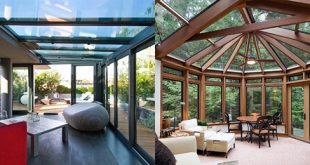 Top 60 Beste Sunroom Ideen - Helle Glasierte-In Solarium Designs