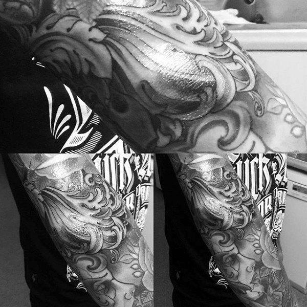 Top 100 besten Ellenbogen Tattoos für Männer - Maskulin Design-Ideen