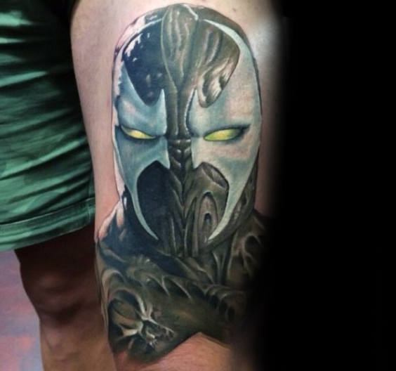 40 Spawn Tattoo Designs für Männer - Antihelden-Tinte Ideen