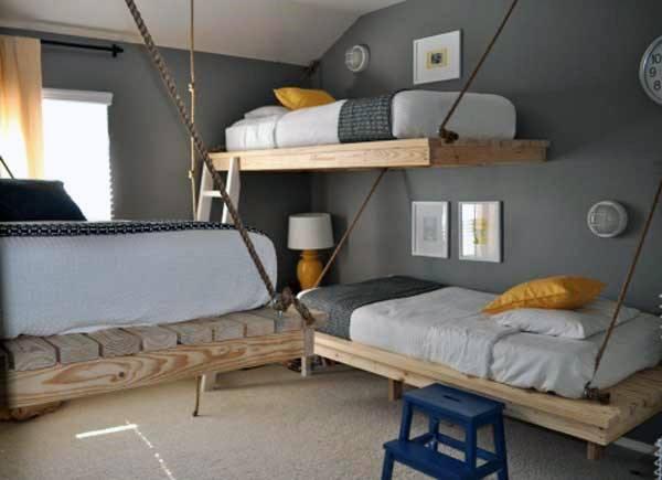 Etagenbett Die Besten : Top 70 besten etagenbett ideen platzsparende schlafzimmer designs