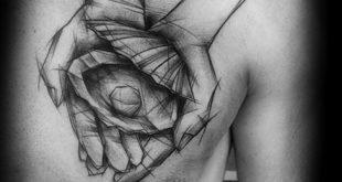 30 Clam Tattoo Designs für Männer - Shell Ink Ideen