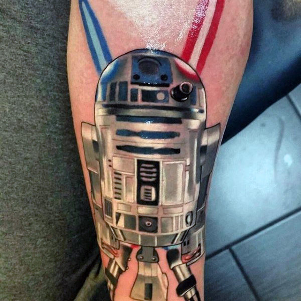 100 Star Wars Tattoos für Männer - Masculine Ink Design-Ideen