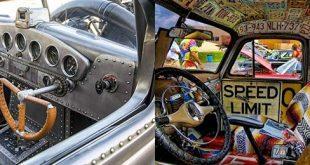 Top 50 Beste Ratte Rod Interior Ideen - Retro Automotive Designs