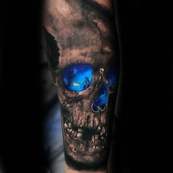 50 Badass Unterarm Tattoos für Männer - Cool Masculine Design-Ideen
