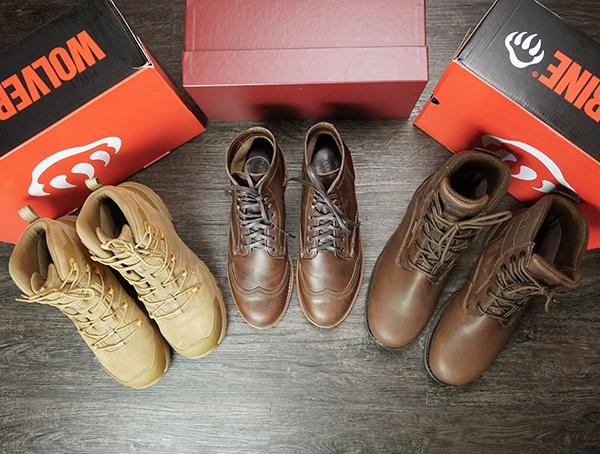 Wolverine Boots für Herren - Special Footwear Feature