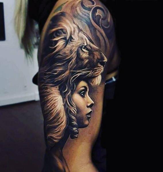 75 Schwarz Weiß Tattoos Für Männer Masculine Ink Designs Mann