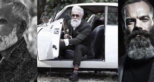 60 graue Bart Stile für Männer - Distinguished Gesichts Haar Ideen