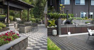 Top 60 besten Outdoor-Küche Ideen - Chef inspiriert Backyard Designs