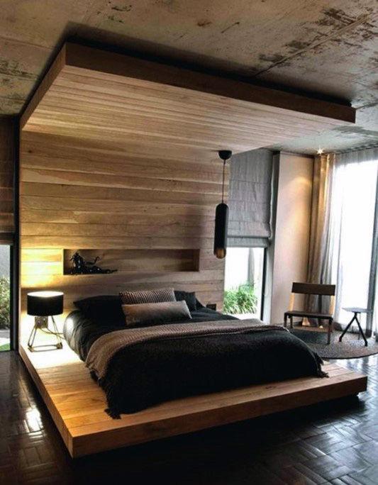 80 Bachelor Pad Männer Schlafzimmer Ideen   Manly Interior Design