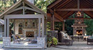 Top 50 besten Hinterhof-Pavillon-Ideen - Covered Outdoor-Struktur-Designs