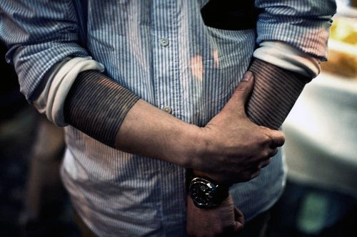 50 Black Band Tattoo Designs für Männer - Bold Ink Ideen