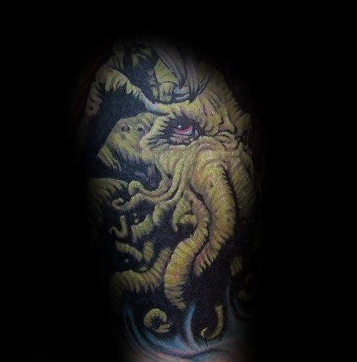 70 Cthulhu Tattoo Designs für Männer - Masculine Ink Ideen