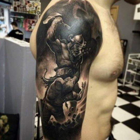 90 Cool Arm Tattoos für Männer - Manly Design-Ideen