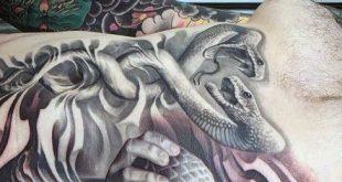 60 Caduceus Tattoo Designs für Männer - Manly Ink Ideen
