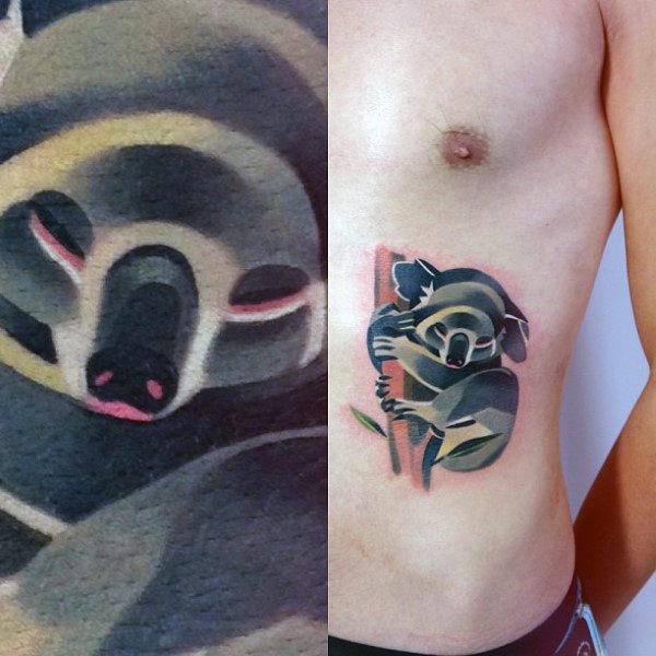 30 Koala Tattoo Designs für Männer - Wild Animal Ink Ideen