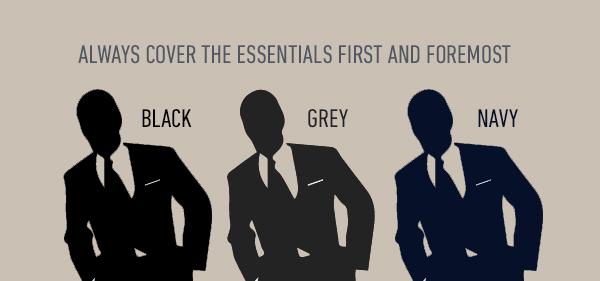 Wie viele Anzüge sollte ein Mann besitzen?