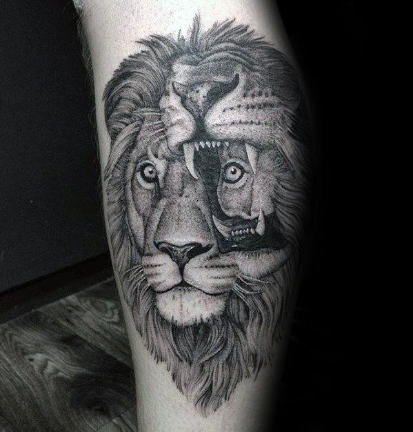 50 Glitch Tattoo Designs für Männer - Fehlfunktion Tinte Ideen
