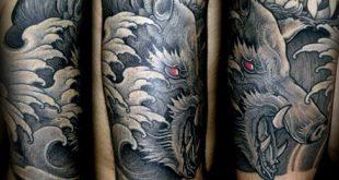 60 Wildschwein Tattoo-Designs für Männer - Virulent Animal Ink Ideen