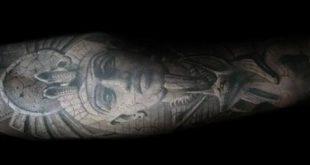 60 König Tut Tattoo Designs für Männer - ägyptische Tinte Ideen