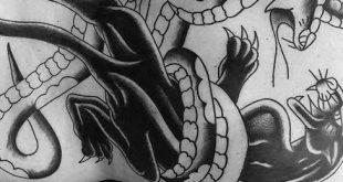 60 traditionelle Panther Tattoo Designs für Männer - Old School-Ideen